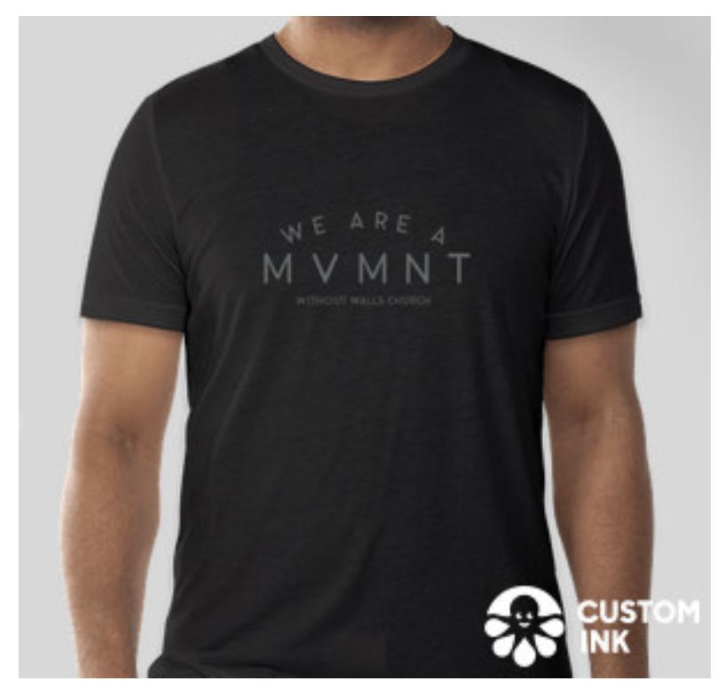 MVMNT t shirt